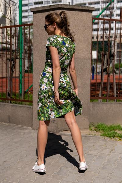Sukienka bawełniana Wild Flowers - OSRL-13W1
