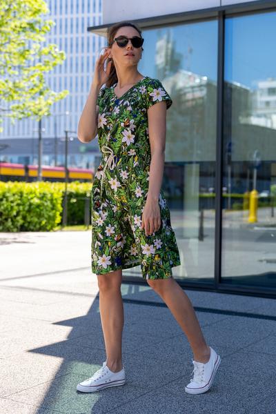 Sukienka bawełniana Luna Wild Flowers - OSRL-13W1