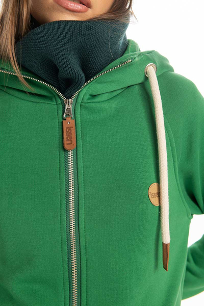 Bluza Długa Z Kapturem Fuerta Green ORFR-70