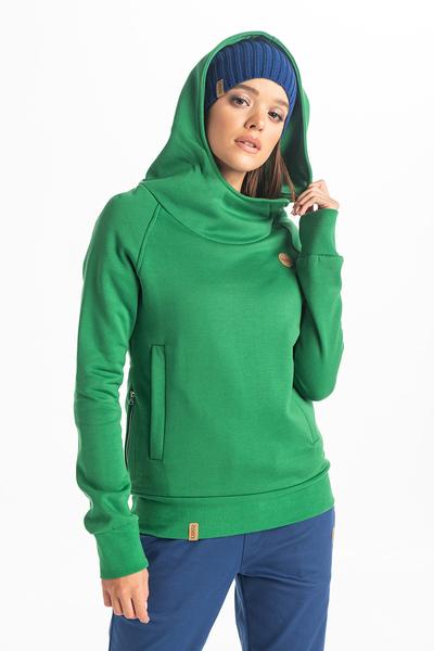 Bluza Z Kapturem Kayo Green OKYD-70