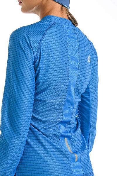Bluza treningowa Karbon Zip Blue Karbon KLC-50