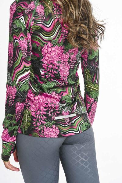 Bluza treningowa Zip Hana LBKZ-14H2