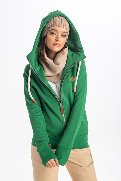 Bluza z Kapturem Bioko Green ORBD-70