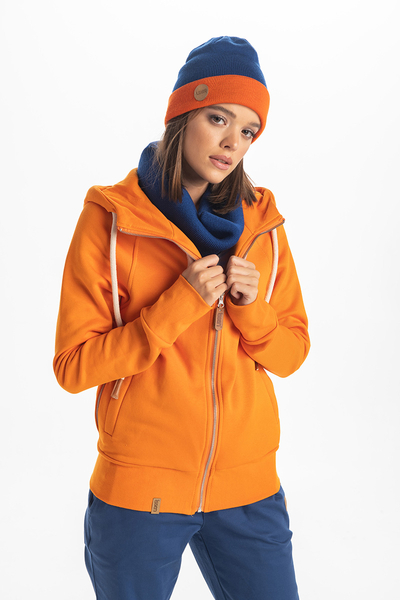 Bluza z Kapturem Bioko Orange ORBD-30