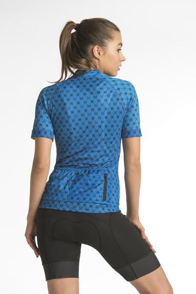 Cycling T-shirt Galaxy Blue II Quality - KKK-9G7-G2