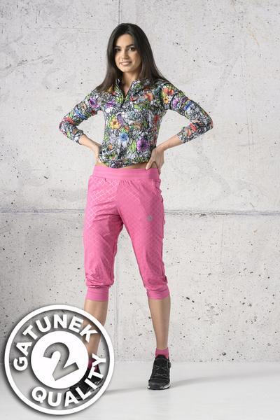 Bloomers 3/4 Light Shiny Royal Pink II Quality - SCC3-1120T-G2