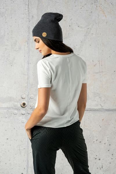 Ecocotton Loose White Petite T-shirt II Quality - IYB-00NG2-G2