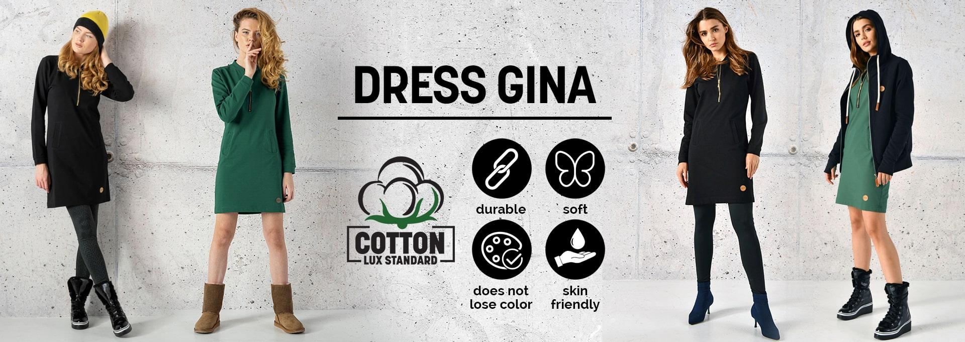 Sukienki Gina