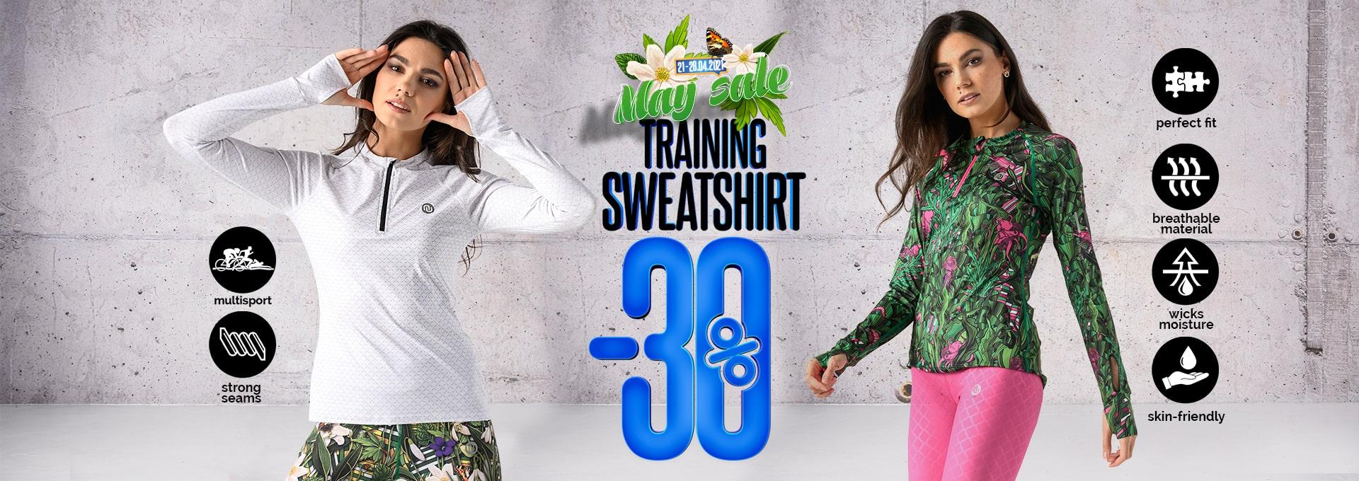 Bluzy treningowe en