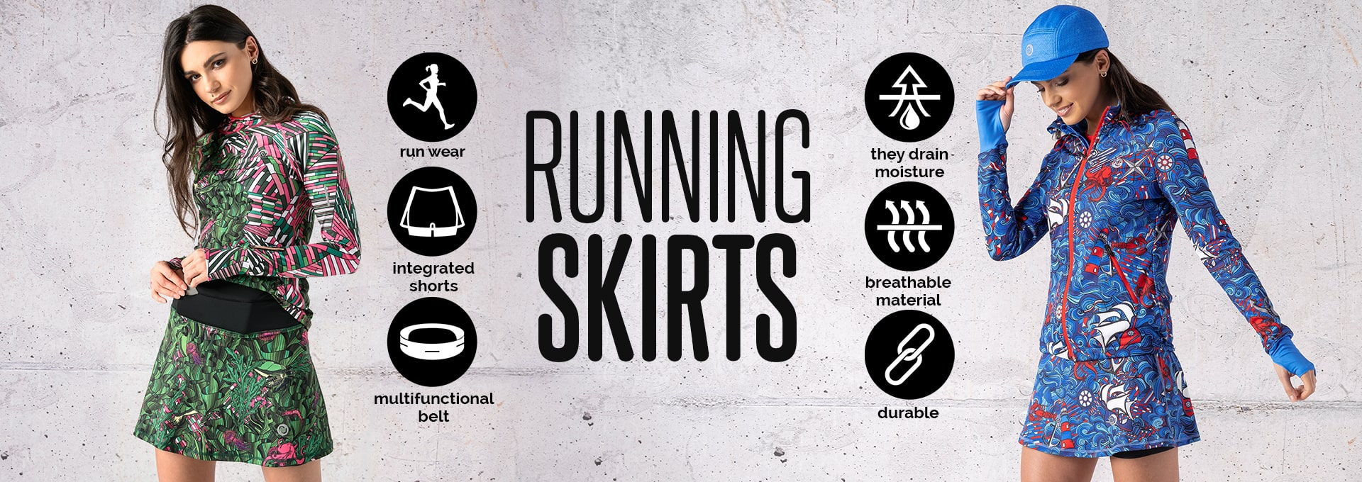 Spódniczki do biegania en