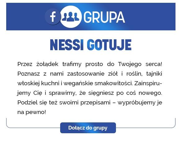 Grupa Facebook Nessi Gotuje